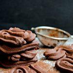 {Viennese Chocolate Sable Cookies} – Fursecuri Vieneze Spritate