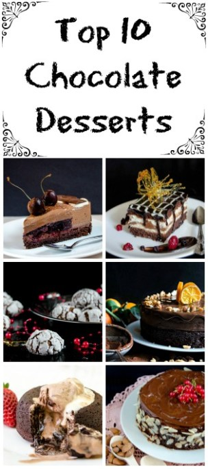 top 10 chocolate desserts