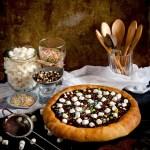 {Chocolate Brioche Pizza} – Pizza cu ciocolata