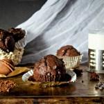 {Double Chocolate Muffins} – Muffins cu ciocolata