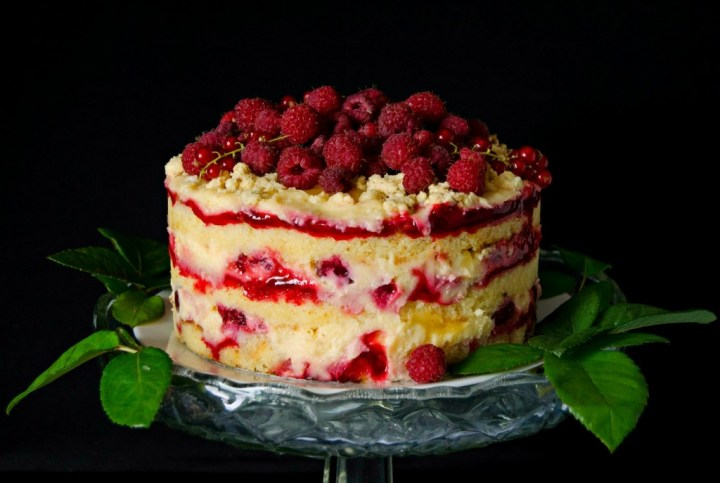 raspberry lemonade cake