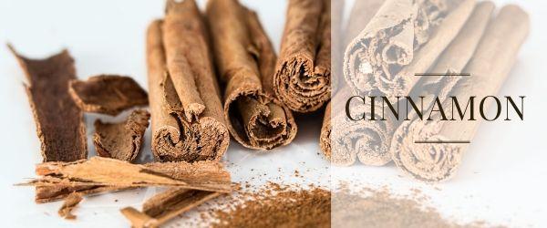 cinnamon in pastry