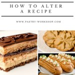 {How to Alter a Recipe – The Do's and Don'ts} – Cum modificam o reteta