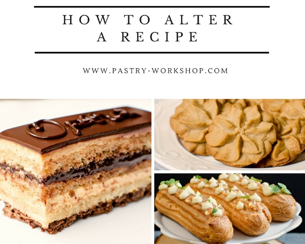how to alter a recipe