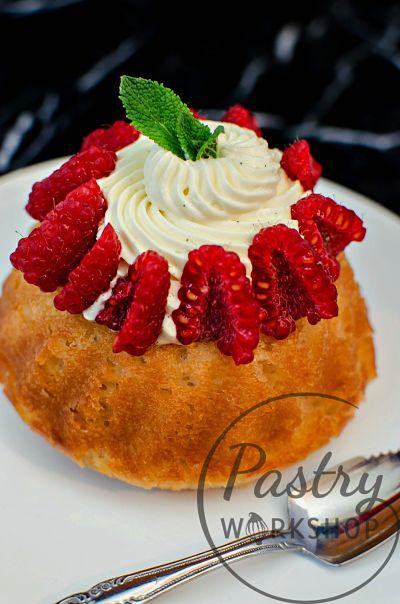 raspberry rose savarin