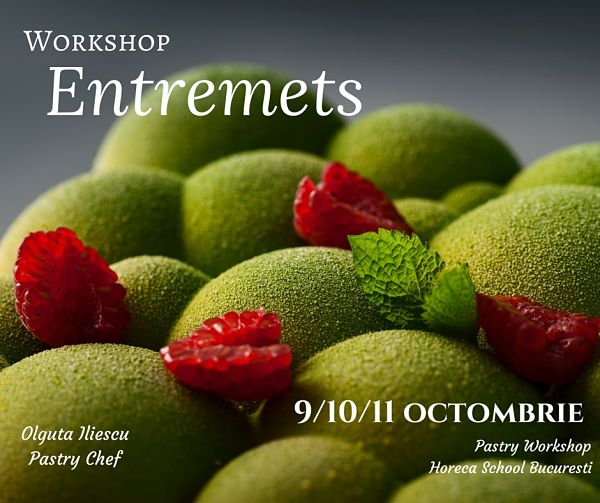Workshop Entremets @ Horeca School