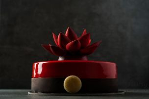 Chocolate Cherry Entremet