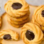 {Butter Spritz Cookies} – Fursecuri cu unt si ciocolata