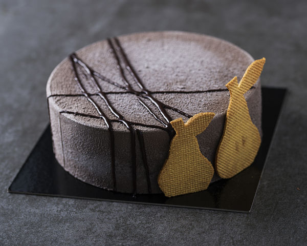 pear chocolate entremet