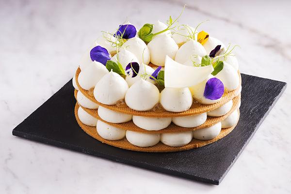 vanilla lemon cake