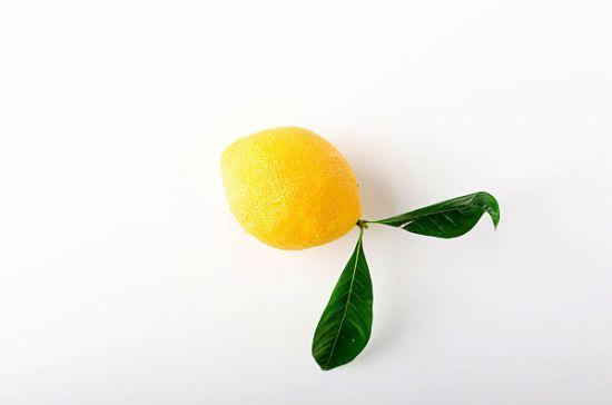 lemon shaped dessert