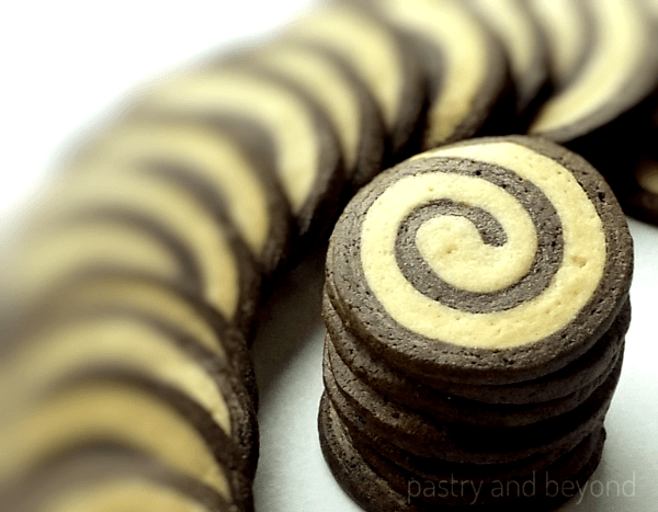 Stacked Swirl Cookies