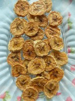 Oven Dried Bananas