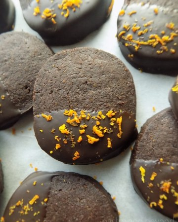 Chocolate and Orange Cookies