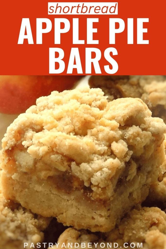 Pin for apple pie bars