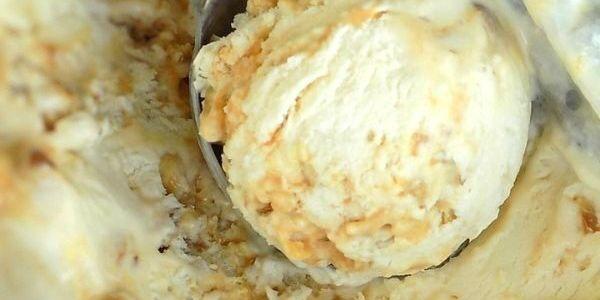 No-Churn Praline Ice Cream