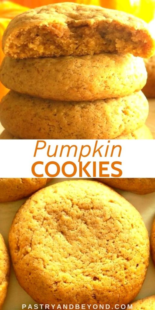 Pin for pumpkin spice cookies
