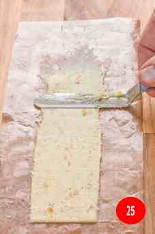 spread using spatula