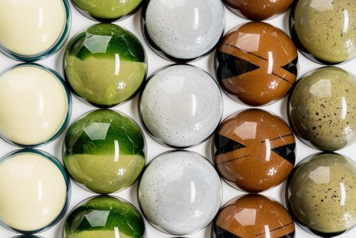 beautiful and complex bonbons