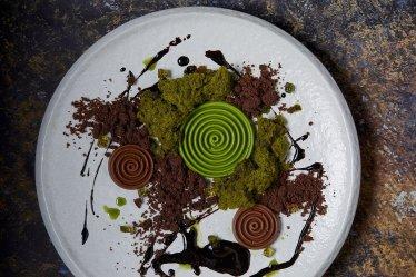 Matcha, Shiso _ Dark Chocolate