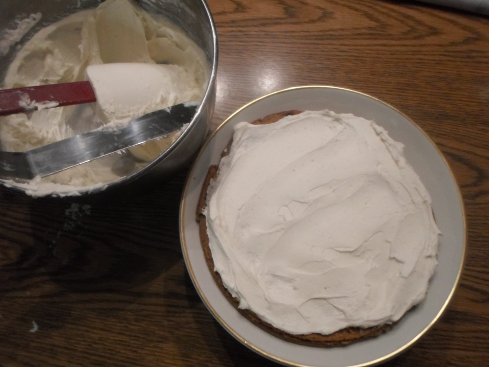 Pumpkin Spice Cake Torte (4/6)