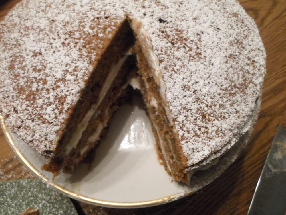 Pumpkin Spice Cake Torte (5/6)
