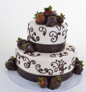 Pastry Palace Las Vegas - Cake 593 - Strawberry Chocolate