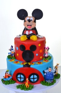 Pastry Palace Las Vegas Kids Cake #1627 - Party With Mickey