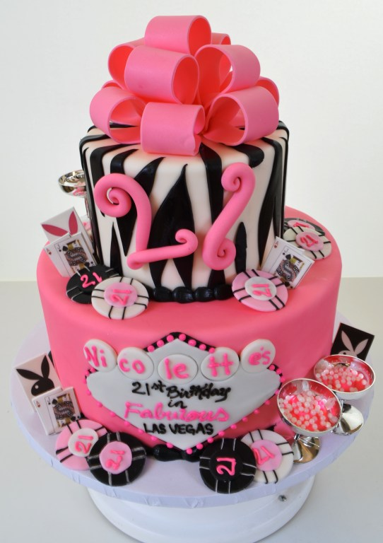 1675 - Pink Vegas Birthday