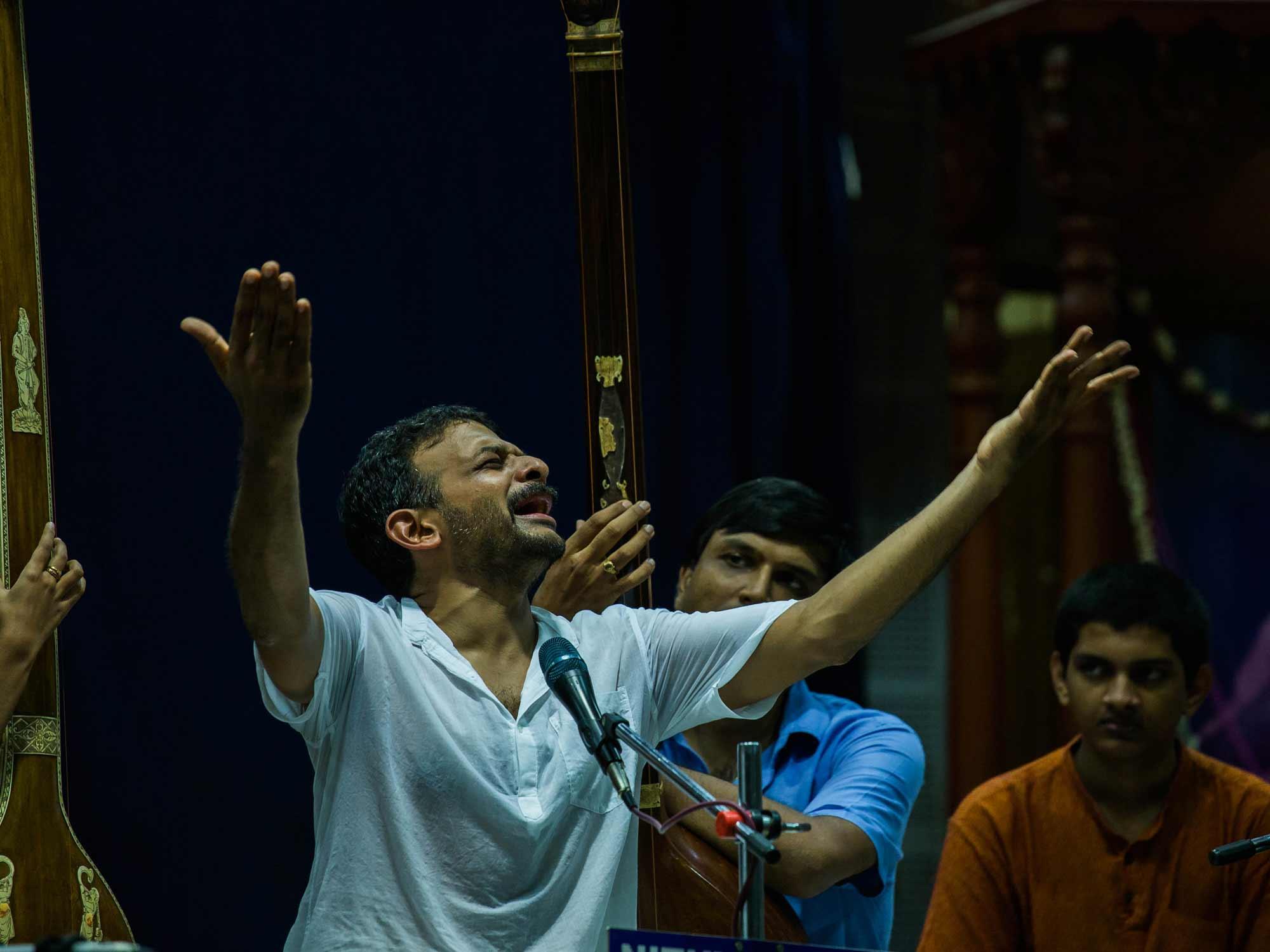 Image result for TM Krishna concert