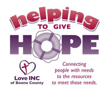 "Love INC ""Helping give Hope"" logo"