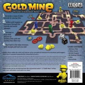 Gold Mine box back