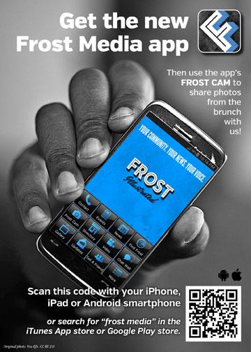 Frost Media app ad
