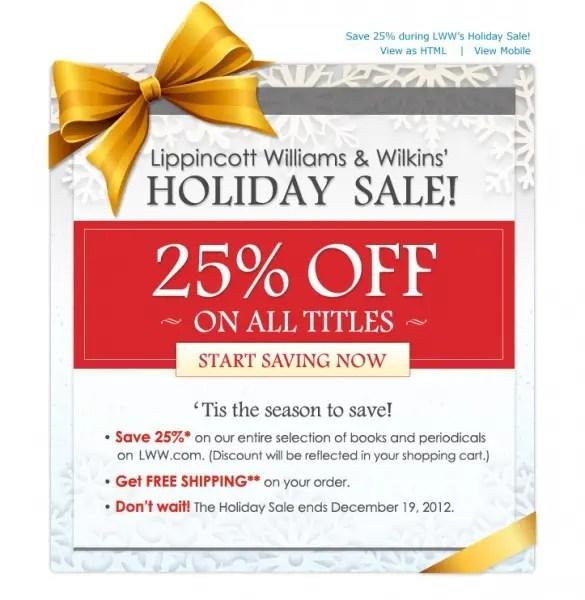 Lippincott offer email