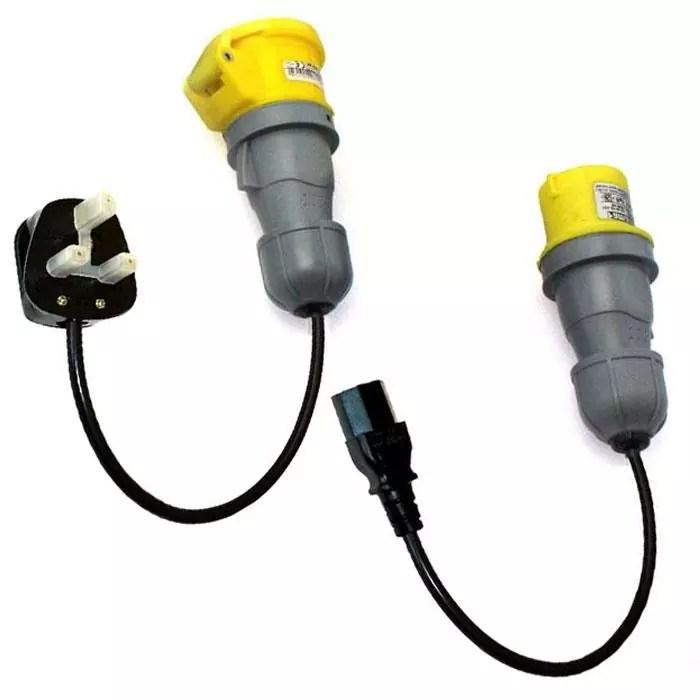 110V 16A PAT Adaptor Kit