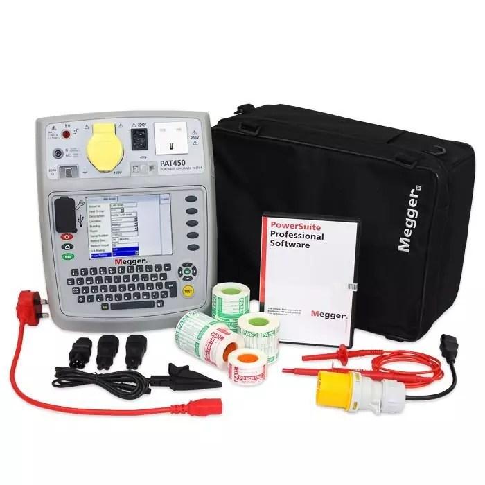 Megger PAT450 Kits (Choice of Kits)