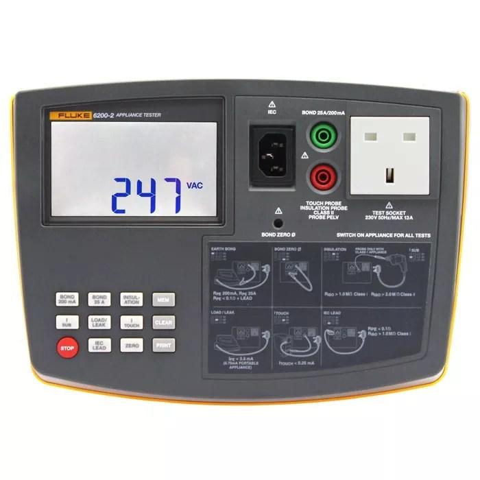 Fluke 6200-2 PAT Tester