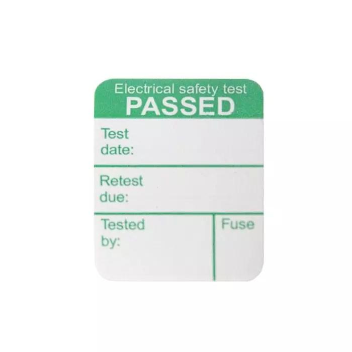 Megger 1000-971 Pass Labels (x1000)