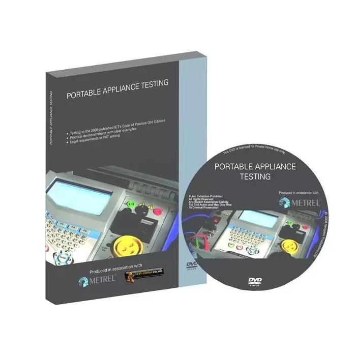 Metrel Portable Appliance Testing DVD