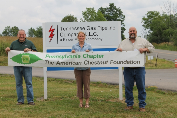 Kinder Morgan supports a local PA project