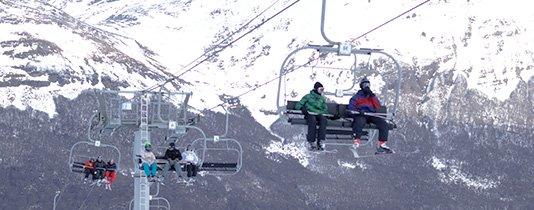 aerosillas de Cerro Castor en Ushuaia