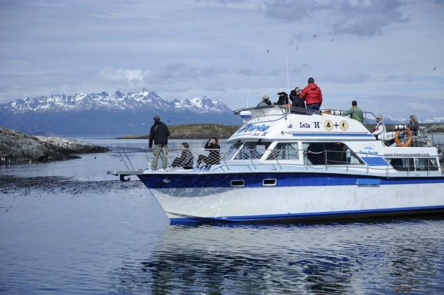 Navegación en el Canal de Beagle