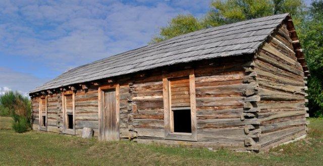 Cabaña de Butch Cassidy en la Patagonia