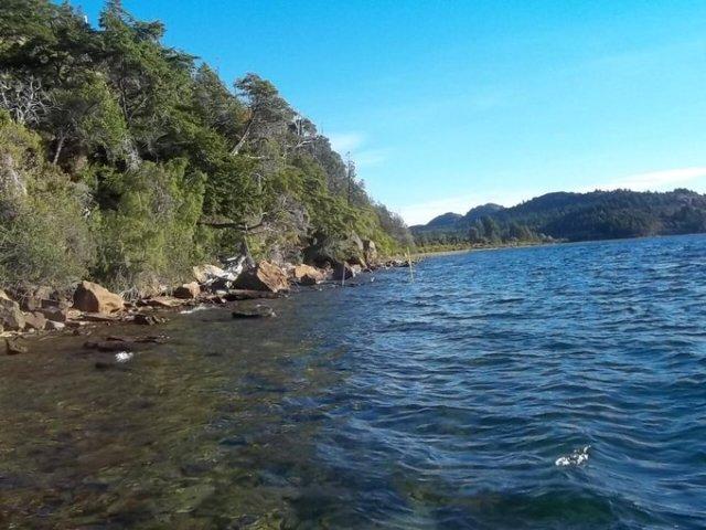 Lago Lezana en Cholila