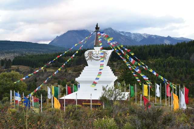 stupa budista chubut