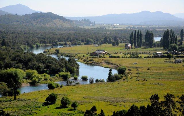 Villa Lago Rivadavia en Cholila