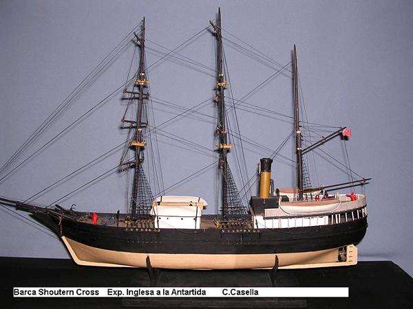 Embarcación inglea Shoutern Cross
