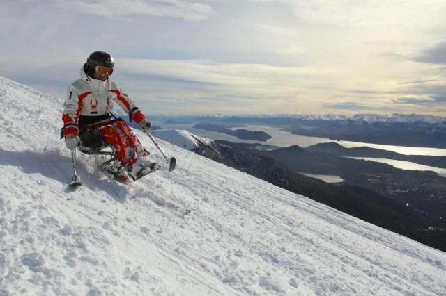 Esquí en silla de ruedas,