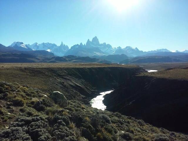 Cañadón del Río Las Vueltas, El Chaltén