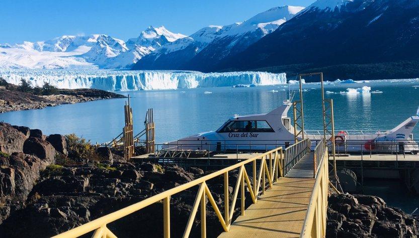Navegar en el Glaciar Perito Moreno, Santa Cruz